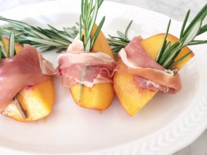 "Healthy ""Peachy"" Appetizers"