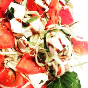 Zoodle Caprese