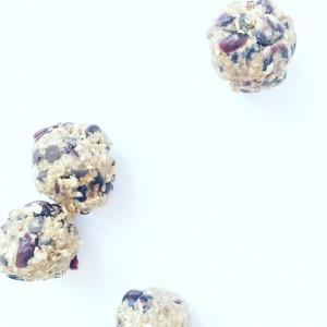 Choco-Cranberry Energy Bites
