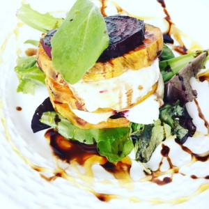 Sweet Beet Salad Stack