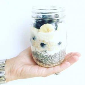 BlueNana Overnight Chia Oats